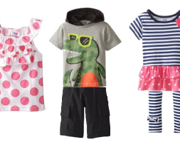 kids mixed clothes